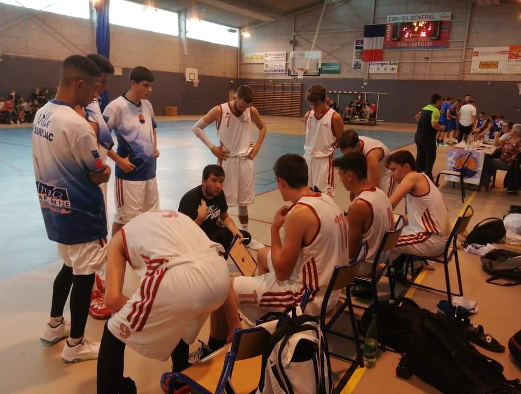 Des Juniors dans le Basket-ball aurillacois